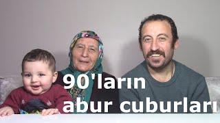 90' LARIN ABUR CUBURLARI | Annem ile 90' ların Lezzetli abur cuburlarını yiyoruz | Türkçe Mukbang