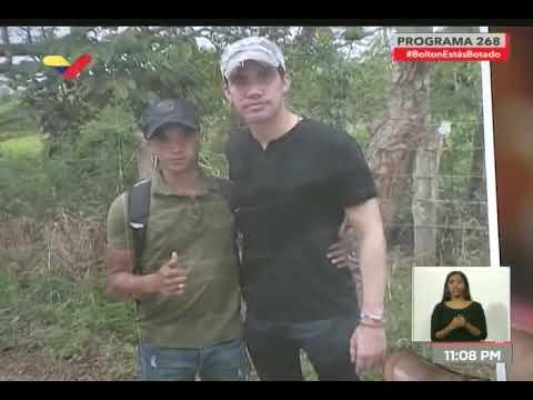 Diosdado Cabello muestra fotos de Juan Guaidó con paramilitares de Los Rastrojos