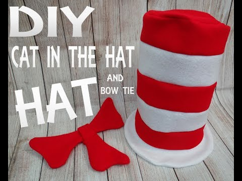 Sexy cat in the hat diy