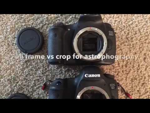 Crop vs full frame for astrophotography
