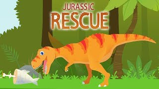 Jurassic Rescue - T-Rex Helps Other Dinosaurs | Eftsei Gaming