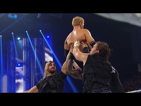 The Shield Triple Powerbombs Christian: SmackDown: June 21, 2013 (WWE Network Exclusive)