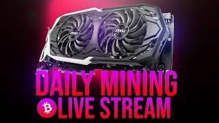 GTX 1160 ? 1660 ? mining live stream 12-27-18