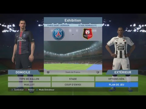 Paris Saint-Germain - Stade Rennais [PES 2016]