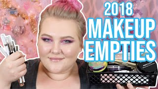 All The Makeup I Used Up in 2018! // Makeup Empties 2018! | Lauren Mae Beauty