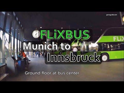 [เที่ยวยุโรป] Flixbus from Munich to Innsbruck : Germany Travel Vlog Ep70