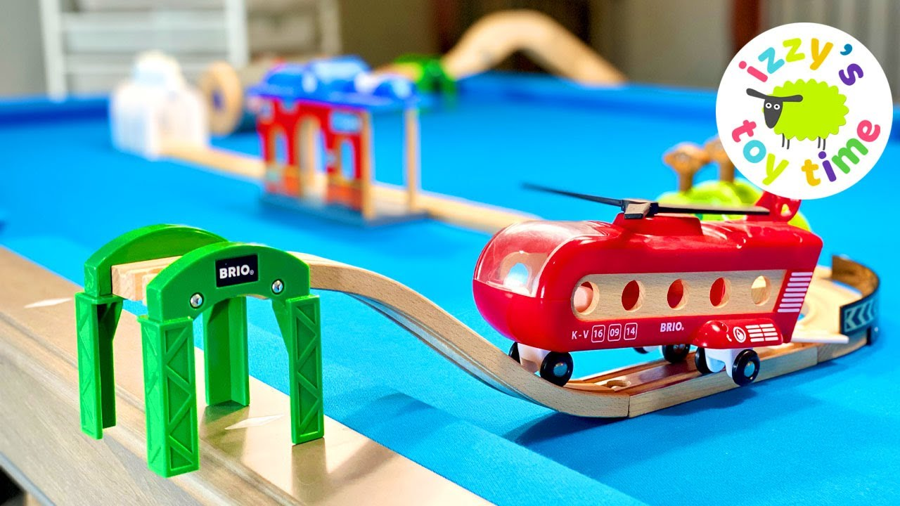 Let's Make a Toy Train POOL TABLE TRACK!