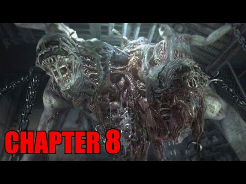 The Evil Within Walkthrough Chapter 8 - A Planted Seed Will Grow No Damage / All Collectibles (PS4)