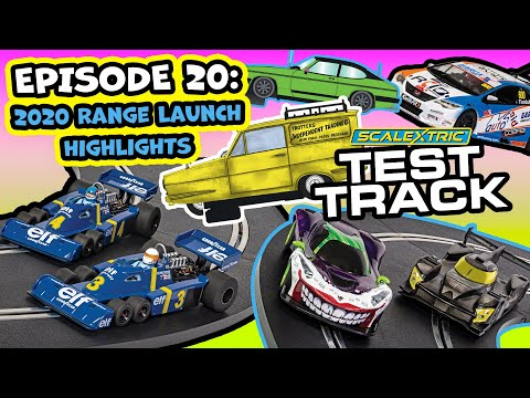 Scalextric l Test Track Ep. 20  – 2020 Range Launch Highlights