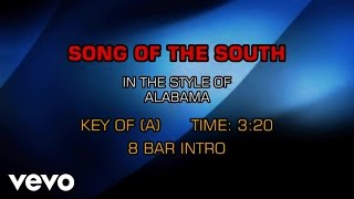 Alabama - Song Of The South (Karaoke)