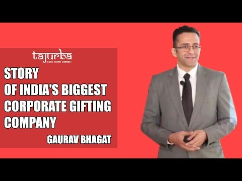From Rs 10000 investment to India's biggest corporate gifting company. .
