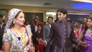 Indian Wedding lovely Couple -- Pawan & Jaya Reception Dance