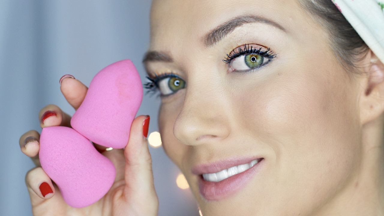 How to use a beauty blending sponge for