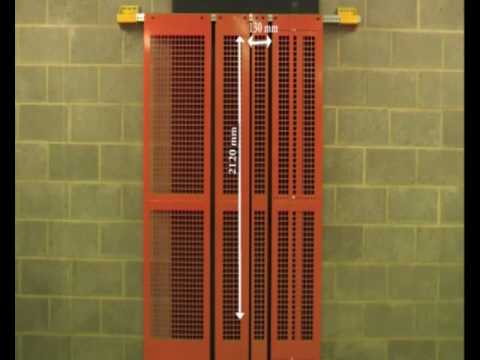Lift Shaft Safety Safe Gate Youtube