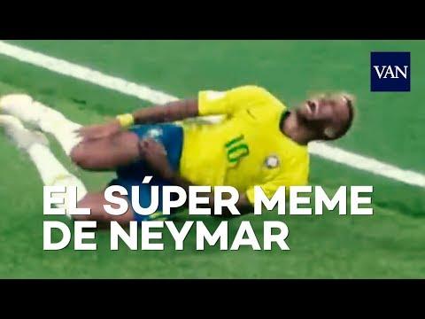 MUNDIAL DE RUSIA | El MEME de Neymar dando volteretas