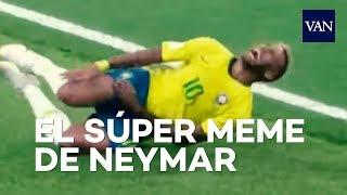 MUNDIAL DE RUSIA 2018 | El MEME de Neymar dando volteretas