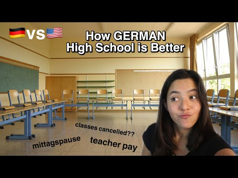 Ways German High School Is BETTER Than American School📚😰🇩🇪