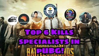 Top 6 Kill Records In PUBG Mobile - 2019 MAY