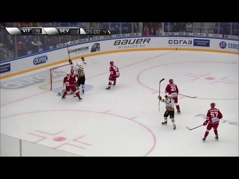 2018-10-16 КХЛ 2018-2019. ХК Витязь Vs ХК Северсталь Череповец