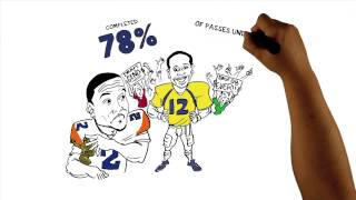 """ESPN """"Numbers Never Lie Whiteboard"""" Is Geno Smith the QB YOUR Team Wants to Draft? - 321 FastDraw"""