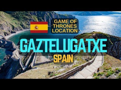 Game Of Thrones Location Dragonstone - Gaztelugatxe, Spain In Basque Country