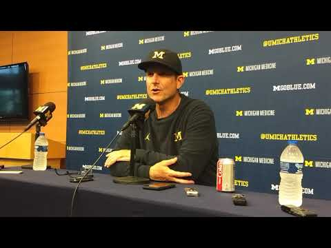 Harbaugh post Maryland