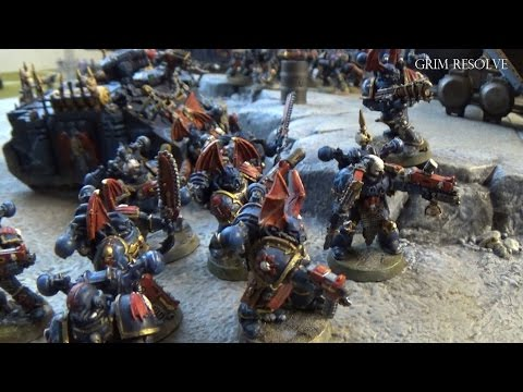 Night Lords vs Space Wolves 1850pts 40k Traitor Legions