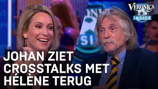 Johan ziet crosstalks met Hélène terug: 'Vrouwonvriendelijk!' | VERONICA INSIDE