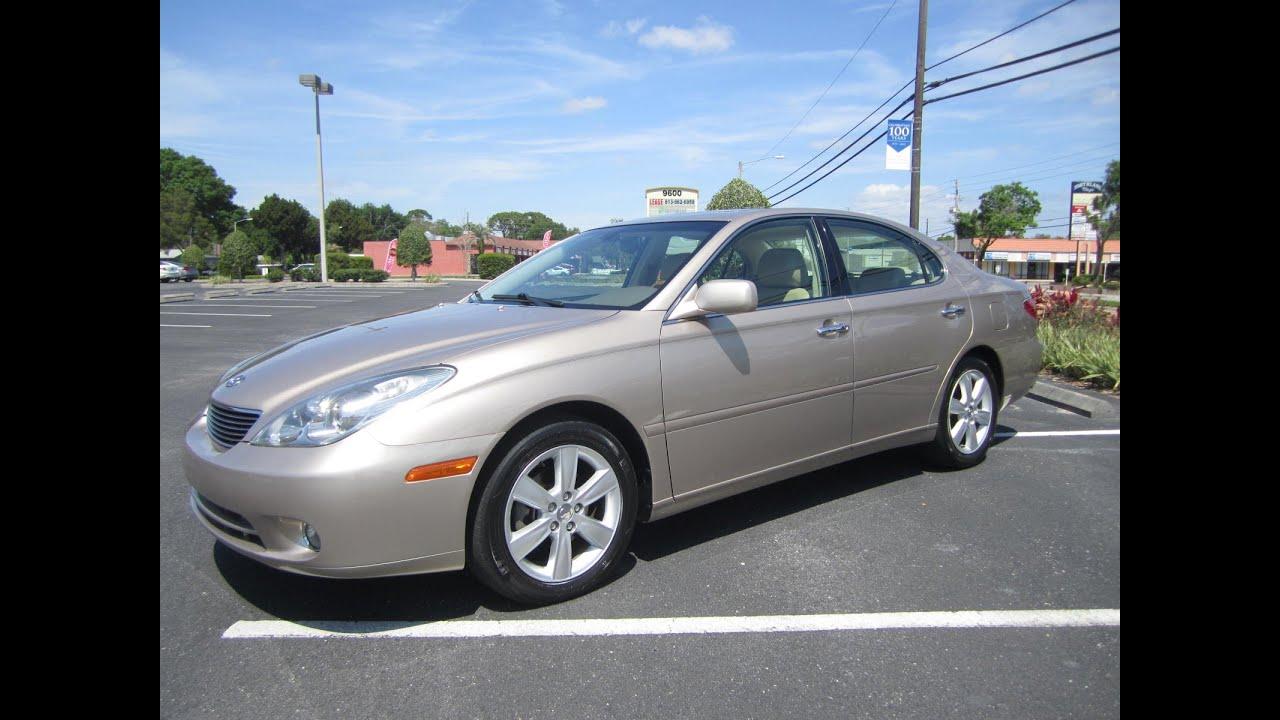 SOLD 2005 Lexus ES 330 W/Navigation One Owner Meticulous Motors Inc ...