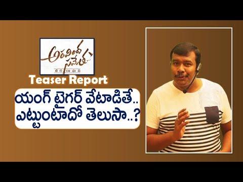Aravinda Sametha Veera Raghava Teaser Report | Aravindha Sametha Movie | Jr NTR | Mr. B