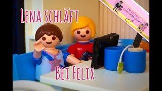 Lena schläft bei Felix -  Playmobilfilm auf deutsch - Folge 116