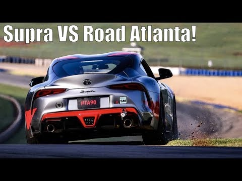 2020 Toyota Supra Road Atlanta Time Attack! GRIDLIFE South - Project TA90 #6