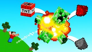 How to turn Aฑy Mob into FIREWORKS! (Minecraft)