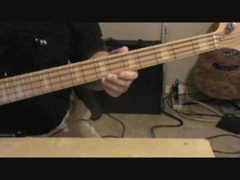 "Led Zeppelin - How to play ""Good Times Bad Times"" on Bass"