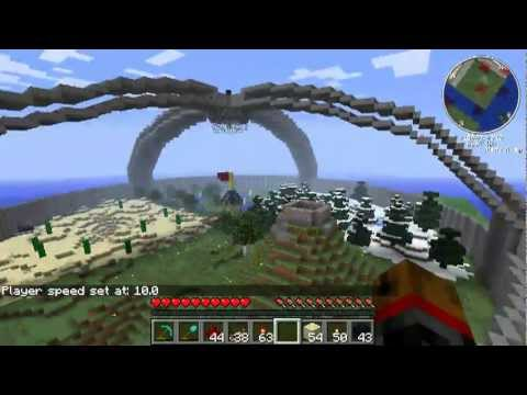minecraft hunger games arena youtube