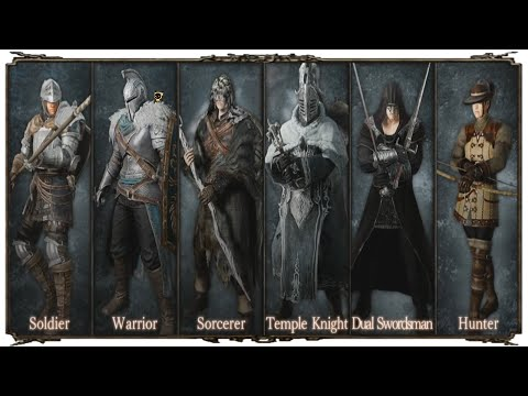 DARK SOULS 2 ALL ARMOR w/ LORE SotFS EDITION