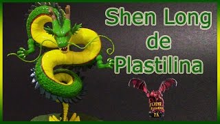 Como Hacer a Shen Long de Plastilina/How to Make Shen Long with Clay/Dragon Ball