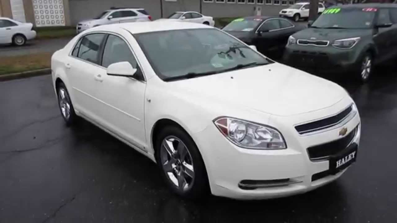 2008 Chevrolet Malibu Lt Walkaround Start Up Tour And Overview