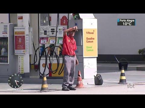 No Rio de Janeiro, falta de combustível já atinge 95% dos postos   SBT Notícias (26/05/18)