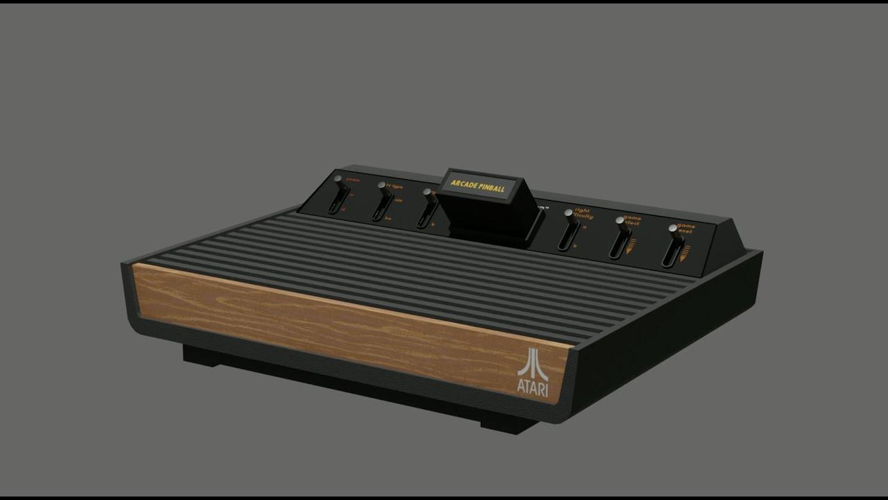 Atari 2600 - High Resolution Model
