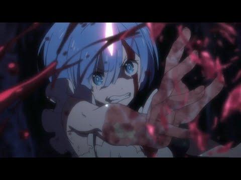 Rem's determination to reach her love😭 ( Rem's & Subaru's Death)