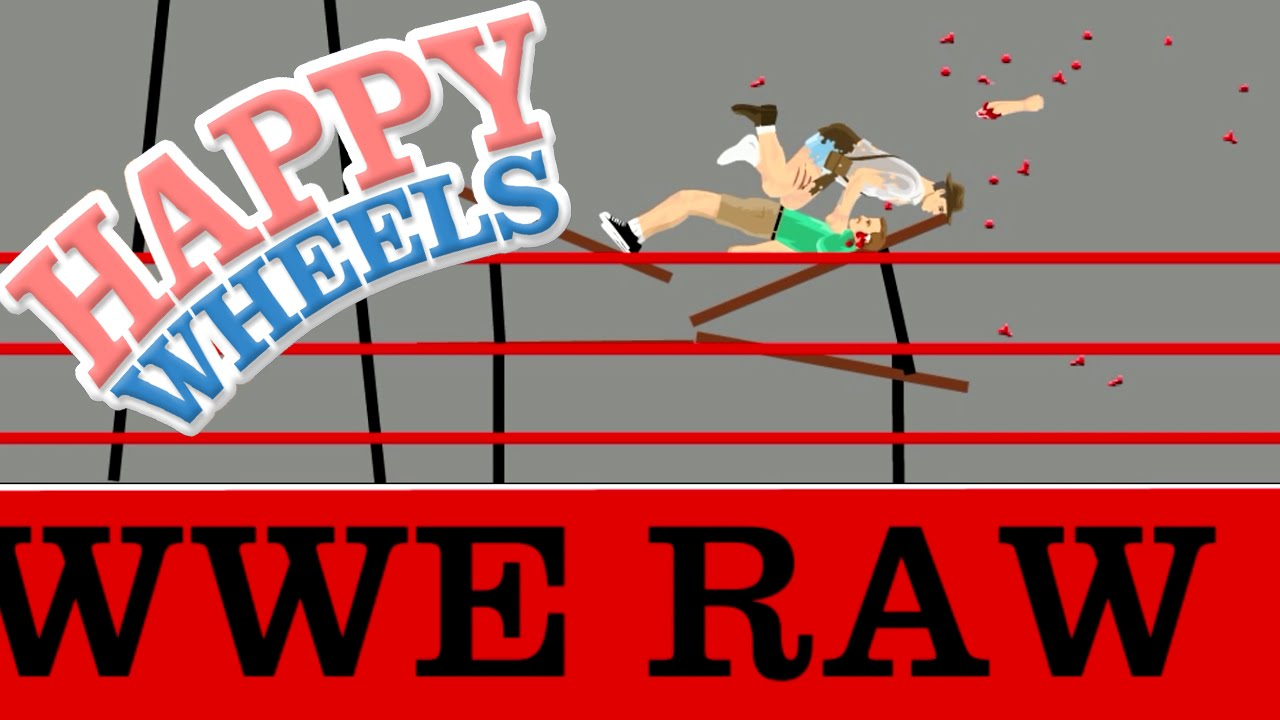 Happy Wheels Wwe Raw Part 349 Youtube