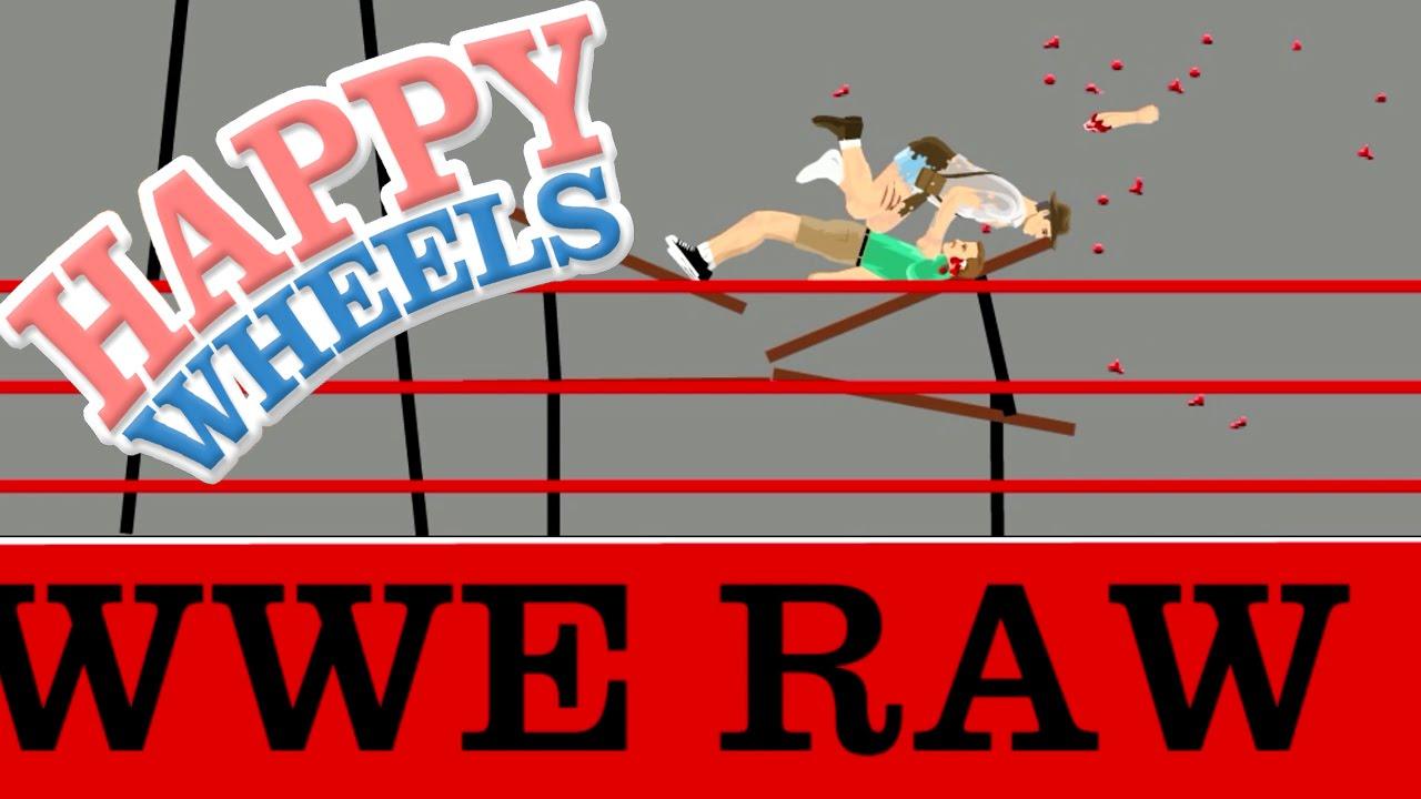 Happy Wheels Wwe Raw Part 349 Youtube
