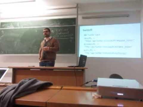 Text mining by Zoltán Varjú (HUN)