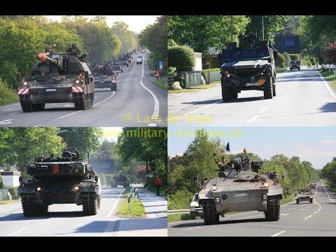 2017 Heidesturm Teil 1/3 - Bundeswehr Manöver der Panzerlehrbrigade 9