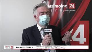 Interview de Bernard LE BRAS, Président du Directoire Suravenir, membre du COMEX Crédit Mutuel Arkéa