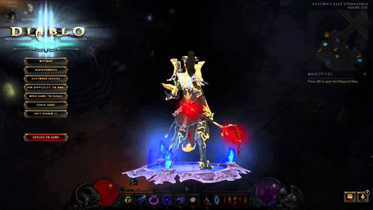 how to dance in diablo 3