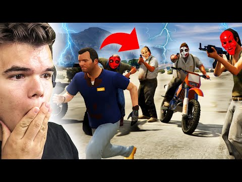 Escape The PURGE In GTA 5!