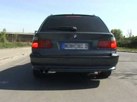 eisenmann sport exhaust bmw 5 touring e39 www. Black Bedroom Furniture Sets. Home Design Ideas