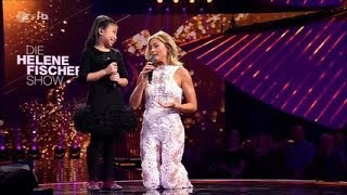 Celine Tam Helene Fischer Show 2017 You Raise Me Up - Reaction
